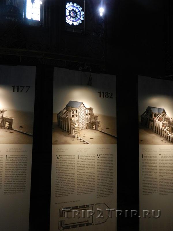 Реконструкция собора в 1182 году, Собор Парижской Богоматери
