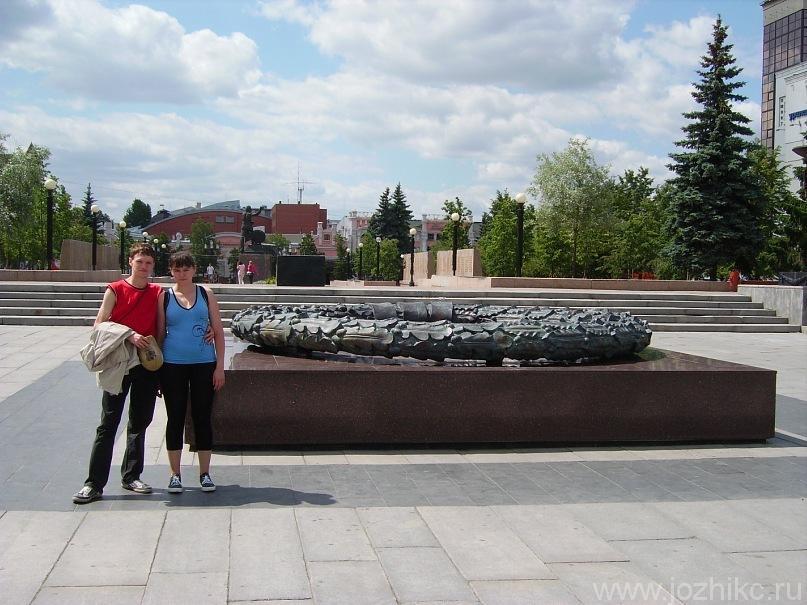 Вечный огонь на бульваре Славы, Челябинск