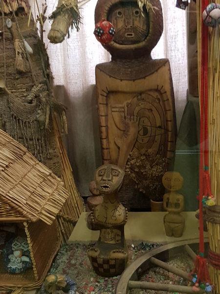 Экспонаты первого зала, Музей игрушек, Васильевский остров, Санкт-Петербург