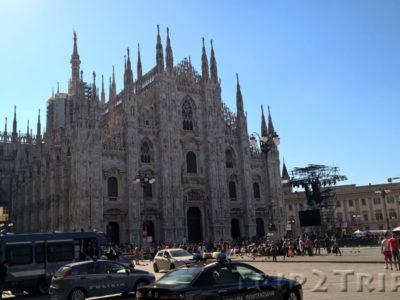 Соборная площадь (Piazza Duomo), Милан