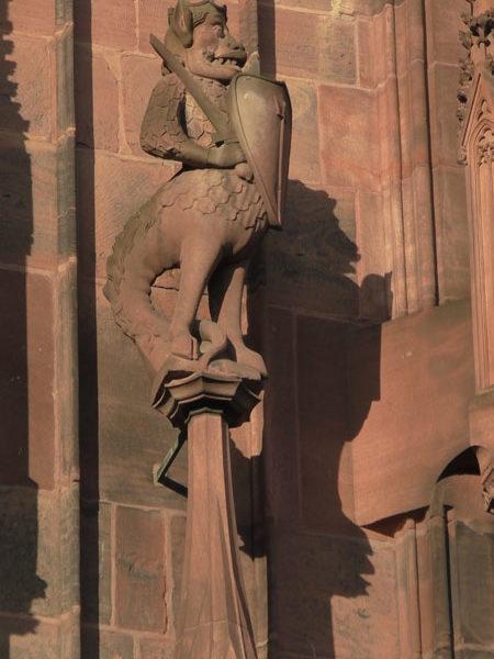 Пинакль, страсбургский собор