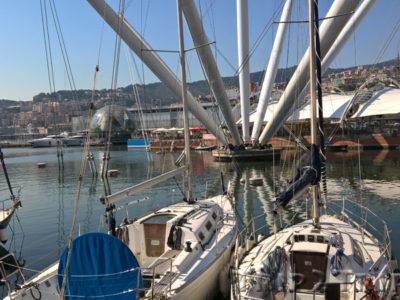 Calata Marinetta, Порт Генуи