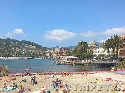 Панорама на бухту, Рапалло