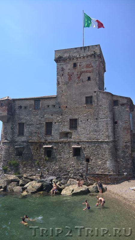 Морская крепость в Рапалло