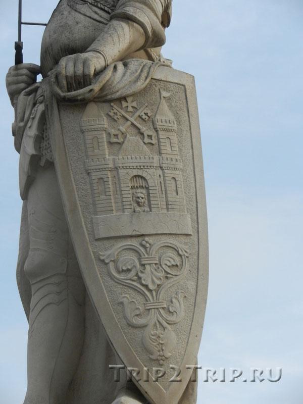 Щит Роланда, Ратушная площадь, Рига
