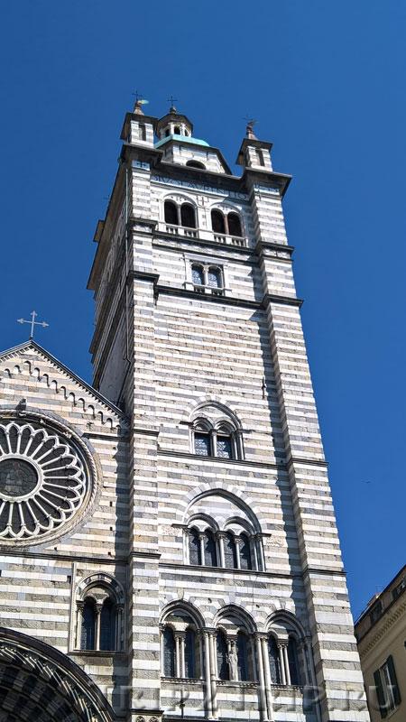 Кампанила (колокольня) собора Сан-Лоренцо, Генуя