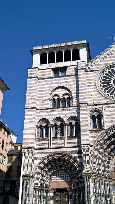 Лоджия собора Сан-Лоренцо, Генуя