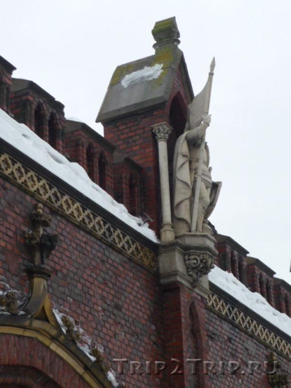 Скульптура Зигфрида фон Цоллерна, Фридландские ворота, Калининград