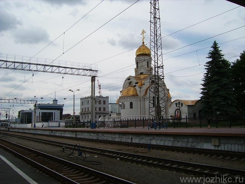 Смоленская церковь при железнодорожном вокзале, Челябинск