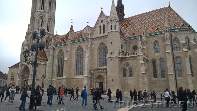 Собор Матьяша, Будайский замок, Будапешт