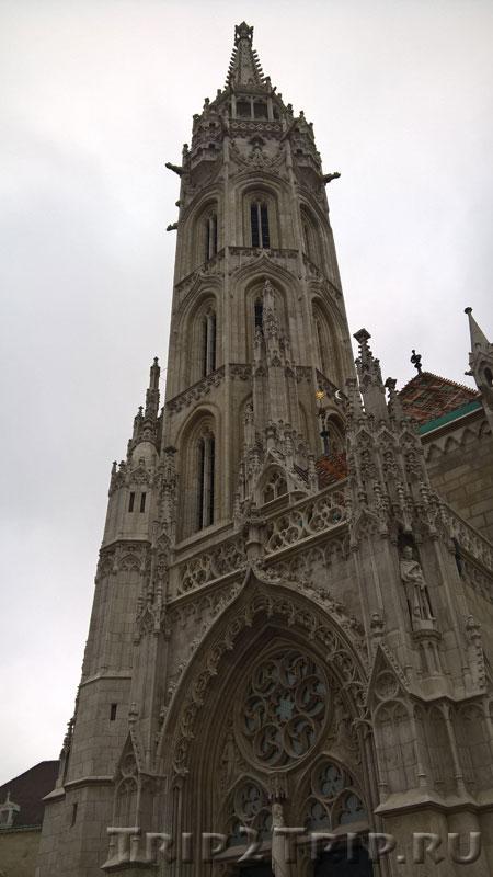 Колокольня церкви Матьяша, Будайский замок, Будапешт