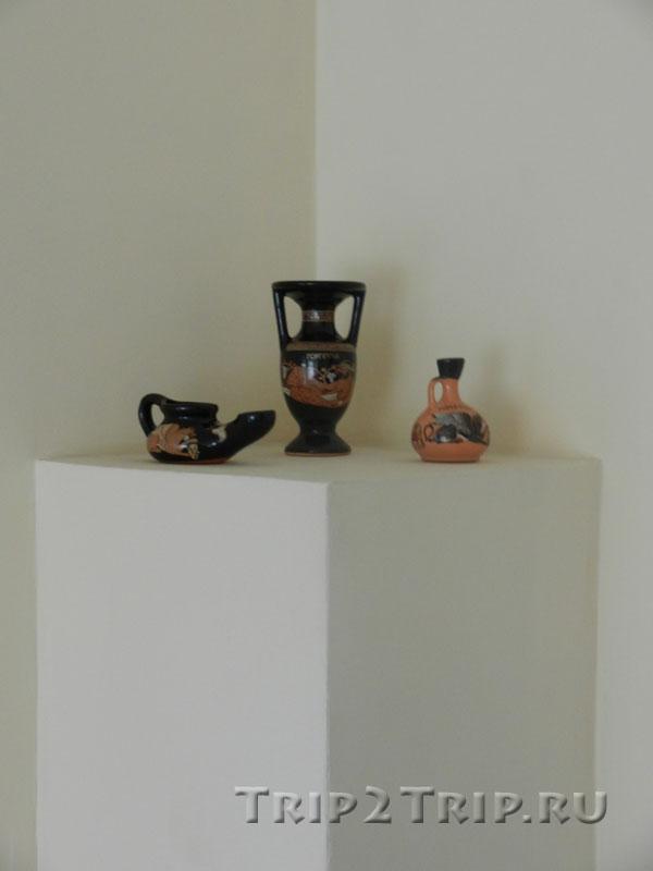 """Сувениры, которые мы купили в музее """"Горгиппия"""", Анапа"""