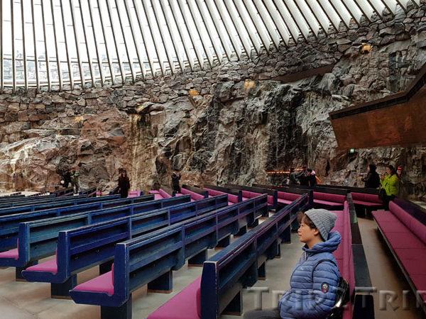 Темппелиаукио (Церковь-в-скале), Хельсинки