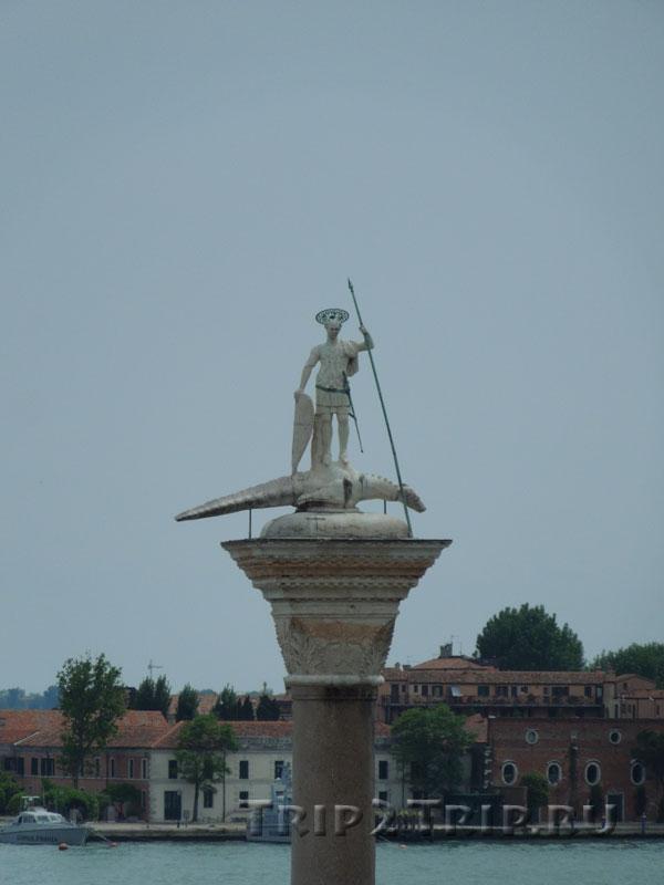 Скульптура Св.Теодора, Венеция