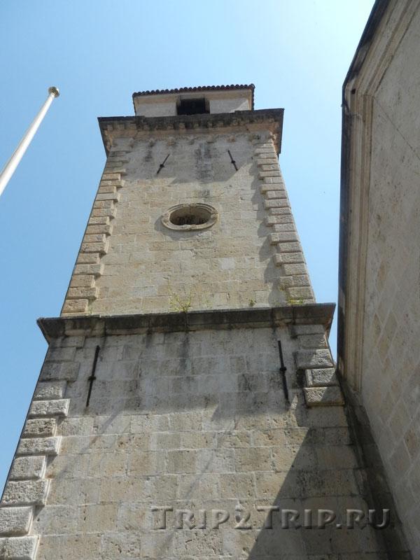 Левая (северо-западная) башня Собора Святого Трифона, Котор