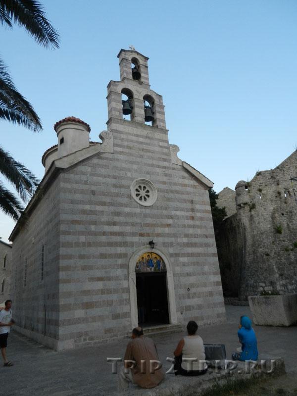 Церковь Святой Троицы, Будва
