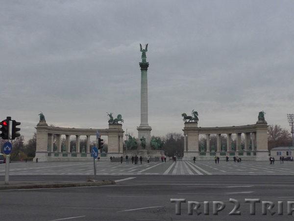 Ансамбль Памятника Тысячелетия Венгрии, Площадь Героев, Будапешт
