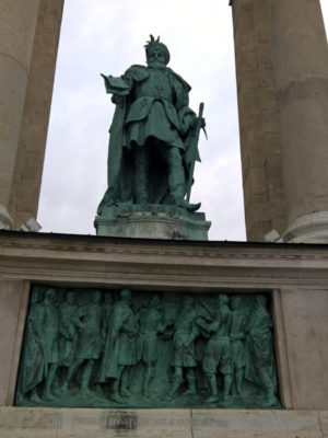 Габор Бетлен, Памятник Тысячелетия, Будапешт