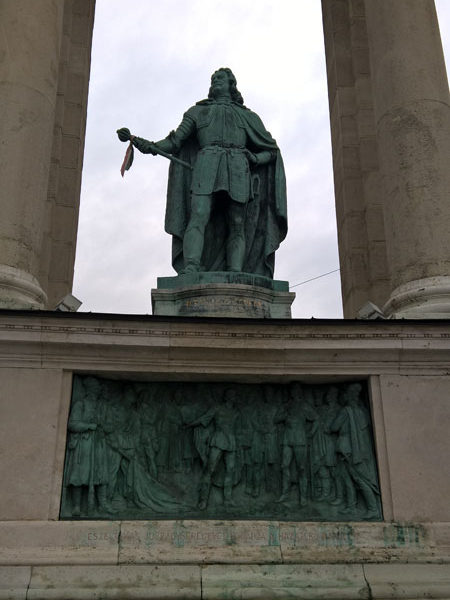 Ференц II Ракоци, Памятник Тысячелетия, Будапешт
