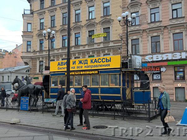 Метро Василеостровская, 6-я и 7-я линии В.О., Санкт-Петербург