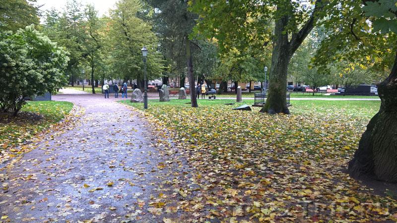 Бывшее чумное кладбище, Староцерковный парк, Хельсинки