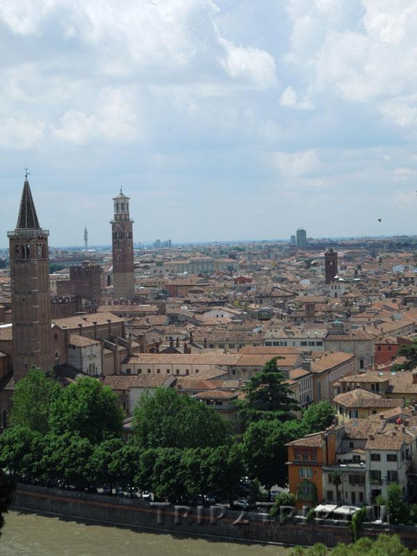 Панорама Вероны