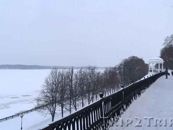 Волжская набережная, Ярославль