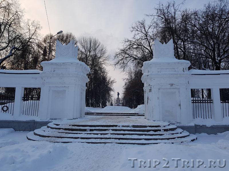 Главные ворота в Центральный парк, Кострома