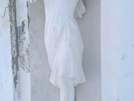 Скульптура колхозницы, Главные ворота в Центральный парк, Кострома