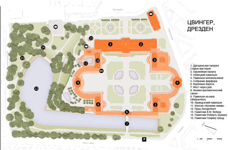 Схема Цвингера, Дрезден