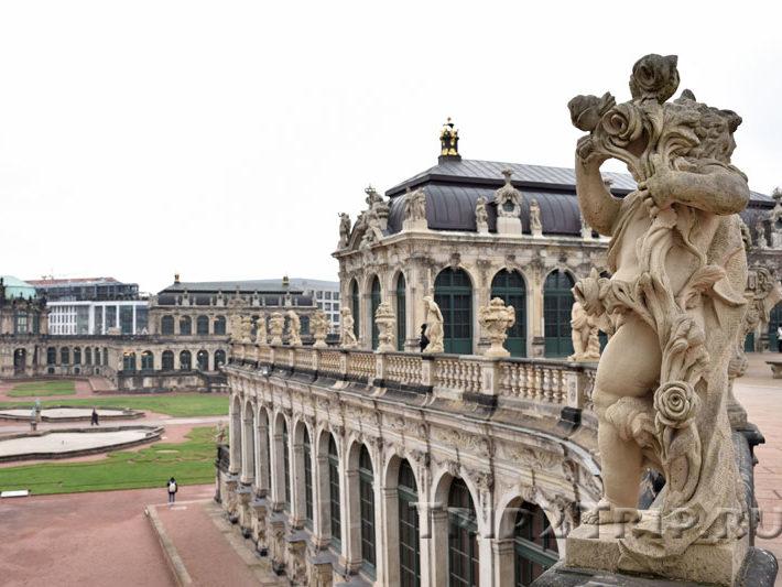 Внутренний двор Цвингера, Дрезден