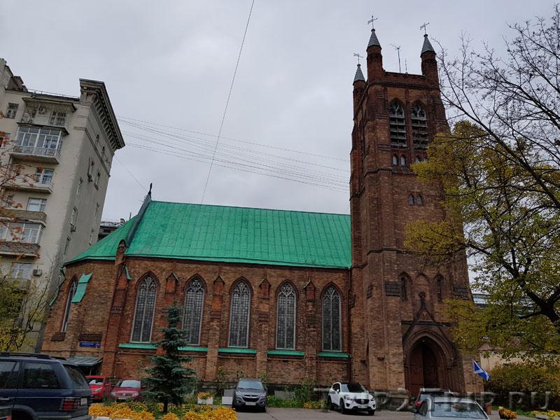 Англиканская церковь, Москва