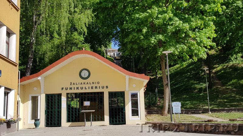 Фуникулёр Жалякальнис, Каунас