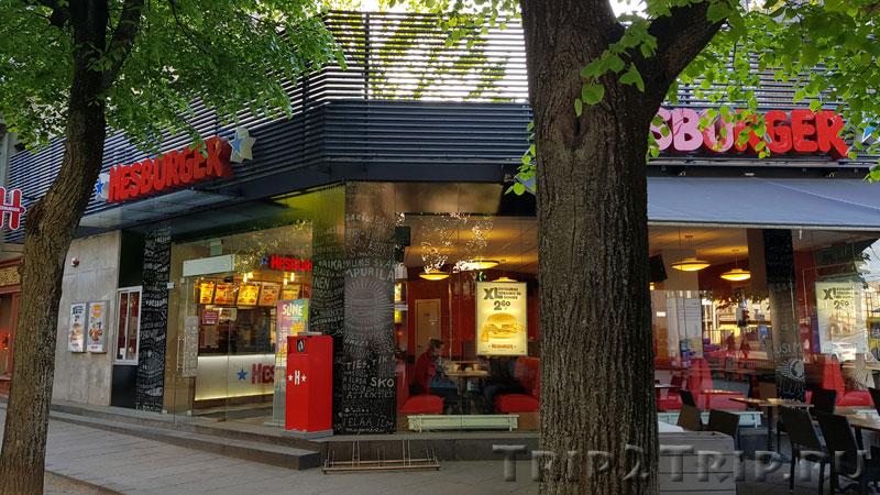Хезбургер на Вильнюсской улице, Каунас