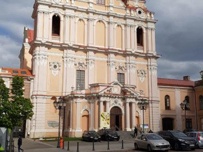 Костёл Святого Казимира, улица Великая, Вильнюс