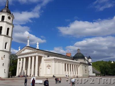 Кафедральный собор, Кафедральная площадь, Вильнюс