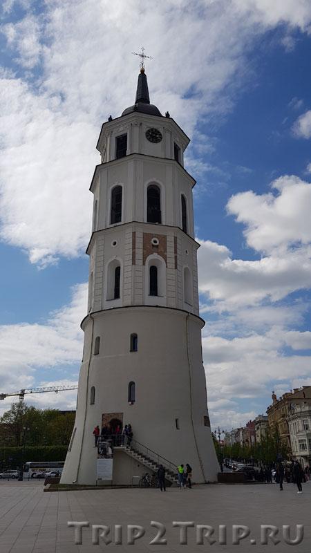 Колокольня, Кафедральная площадь, Вильнюс