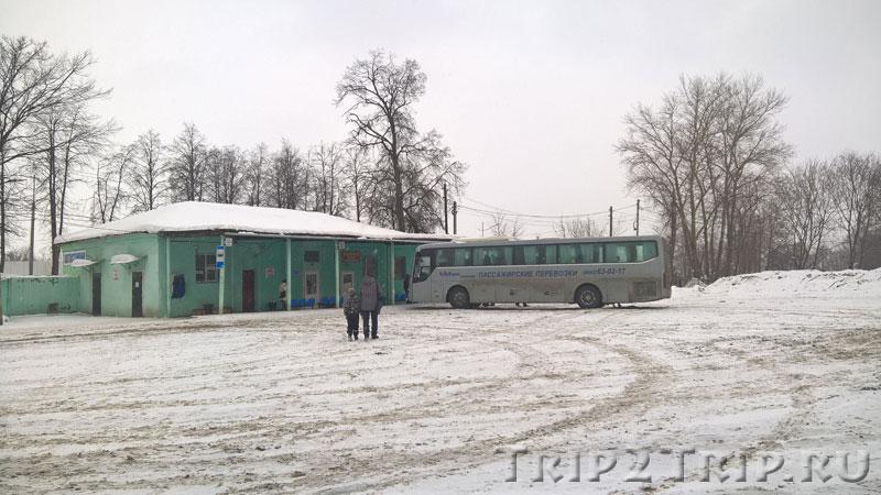 Остановка междугороднего автобуса, Переславль-Залесский