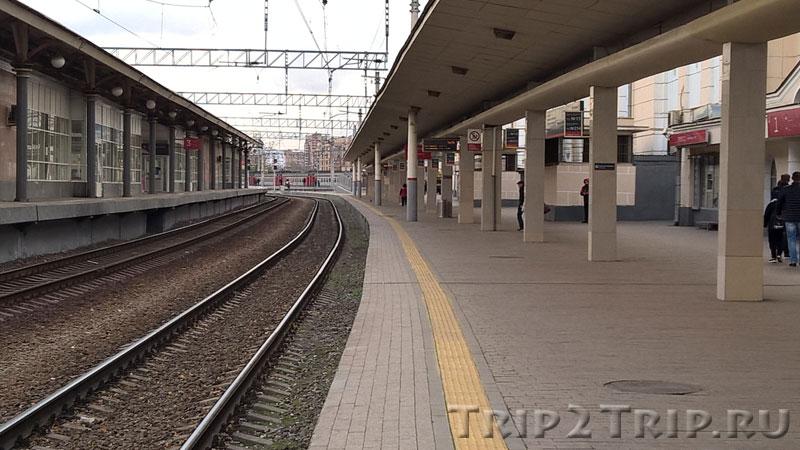 """Платформа для """"Стрижа"""", Курский вокзал, Москва"""