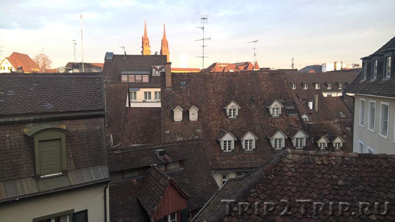 Вид с Leonhardsberg, Базель