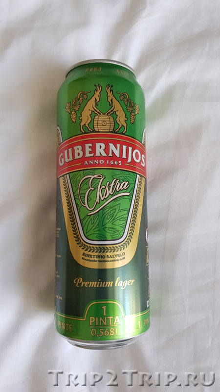 """Шяуляйское пиво """"Gubernijos"""""""