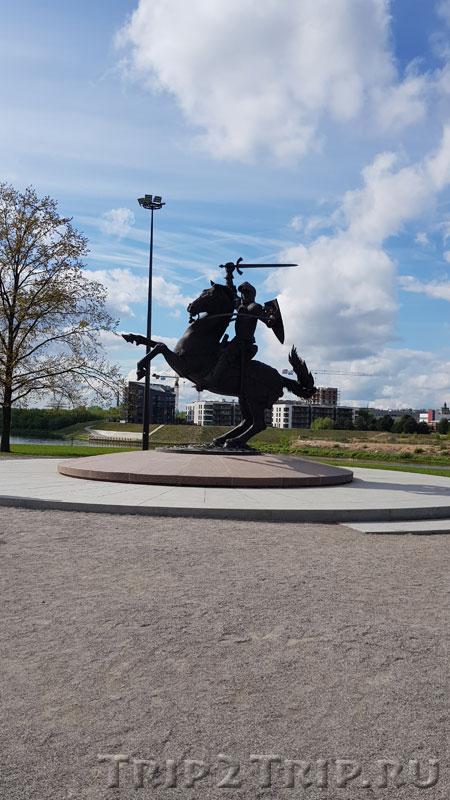 Скульптура Погони, Каунас