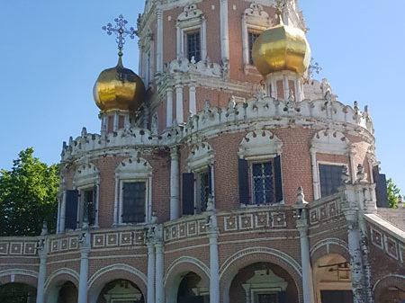 Храм Покрова в Филях, Москва