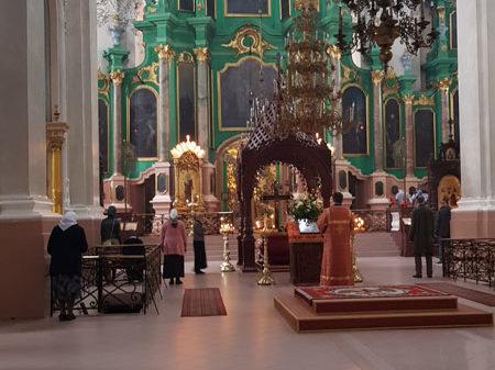 Иконостас работы Глаубица, Свято-Духов монастырь, Вильнюс