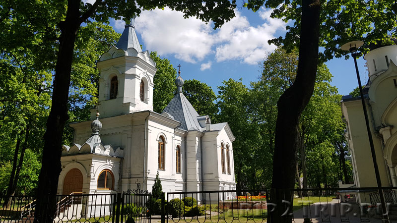 Церковь Воскресения Христова, Парк Мира, Каунас
