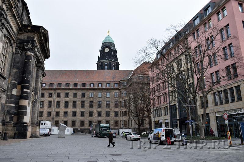 Новая Ратуша, Дрезден