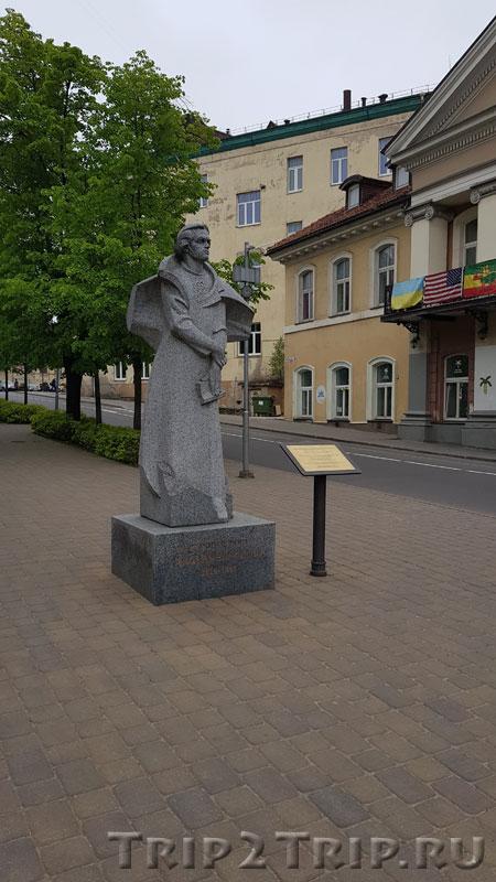 Памятник Тарасу Шевченко, Сквер Украины, Вильнюс