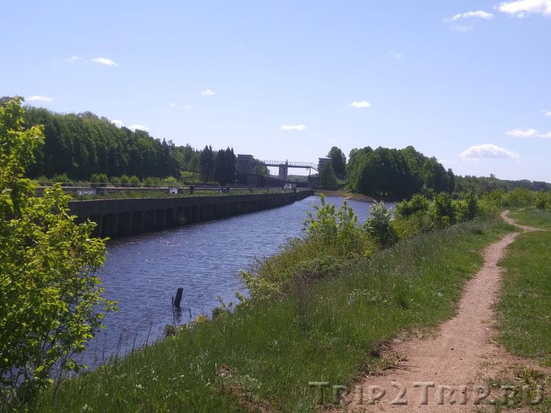 Шлюз №6, канал им. Москвы, Икша