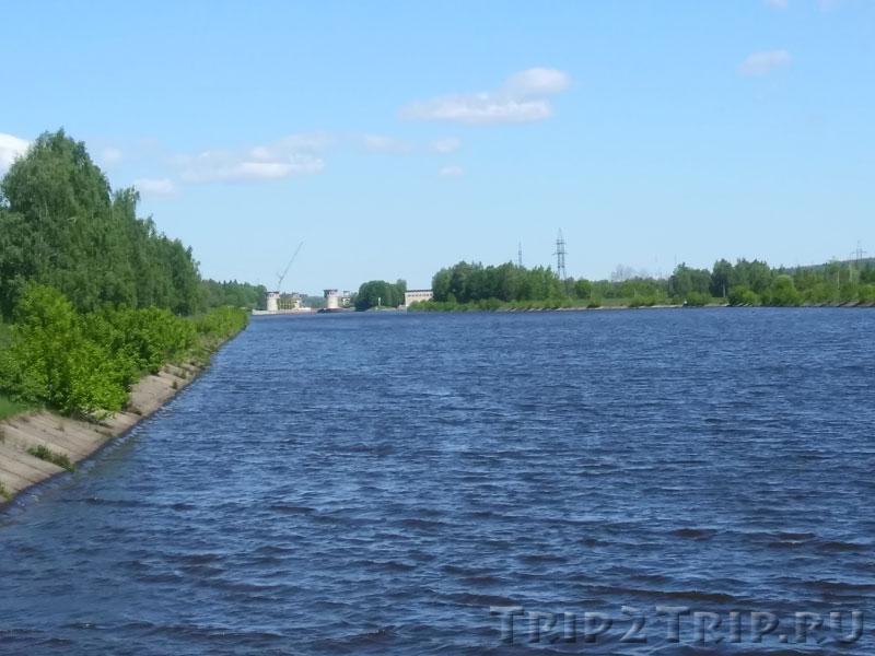 Шлюз №5, канал им. Москвы, Икша