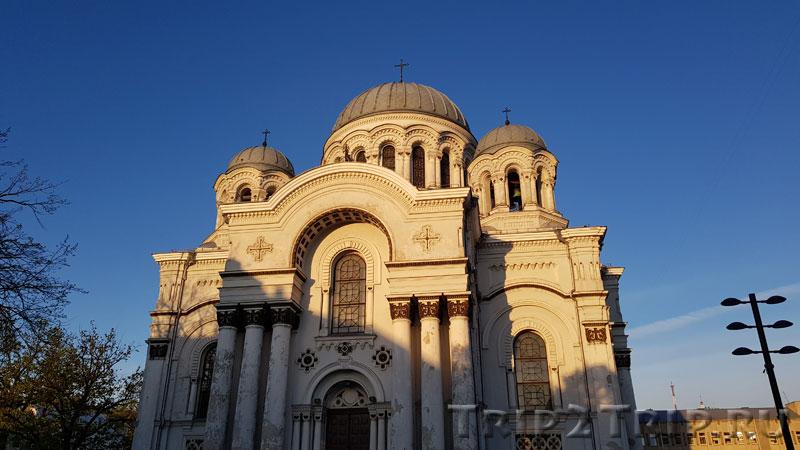 Церковь Архангела Михаила, Площадь Независимости, Каунас